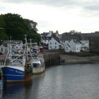 Picturesque Kirkcudbright Harbour